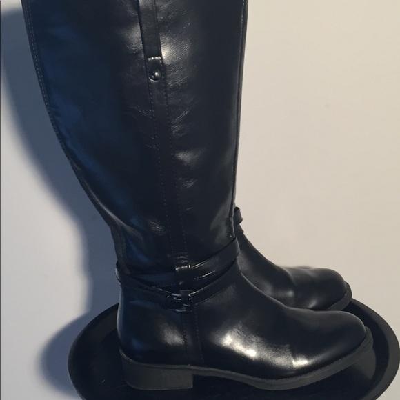 American Eagle Wide Calf Boots Black